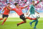 韩国2-0德国 卫冕冠军出局:从天堂到地狱只差一个球