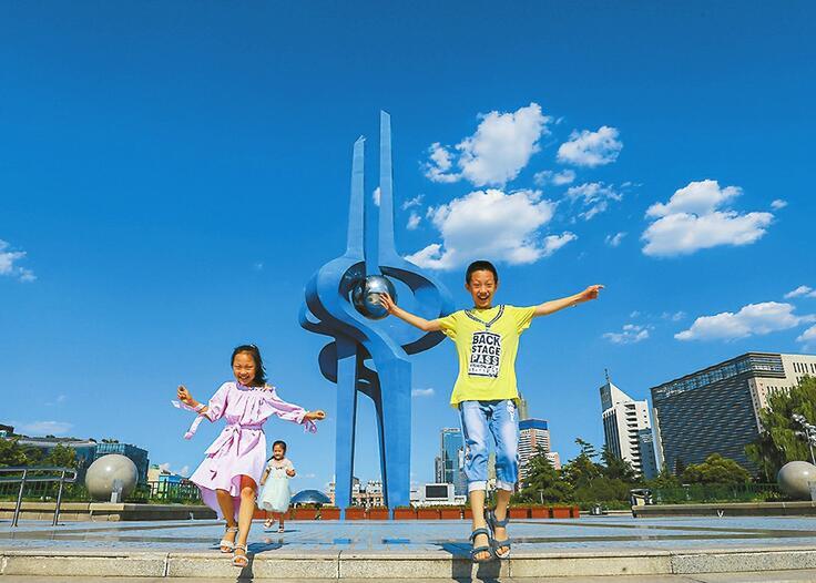 """""""大济蓝"""",宝石蓝:空气质量达优 PM2.5仅为个位数"""
