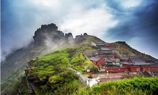 贵州铜仁梵净山申遗成功 弥勒道场:山名来历与佛教历史