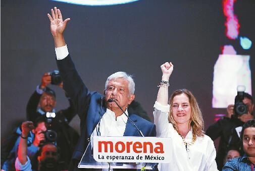 奥夫拉多尔成为墨西哥数十年来首名左翼总统