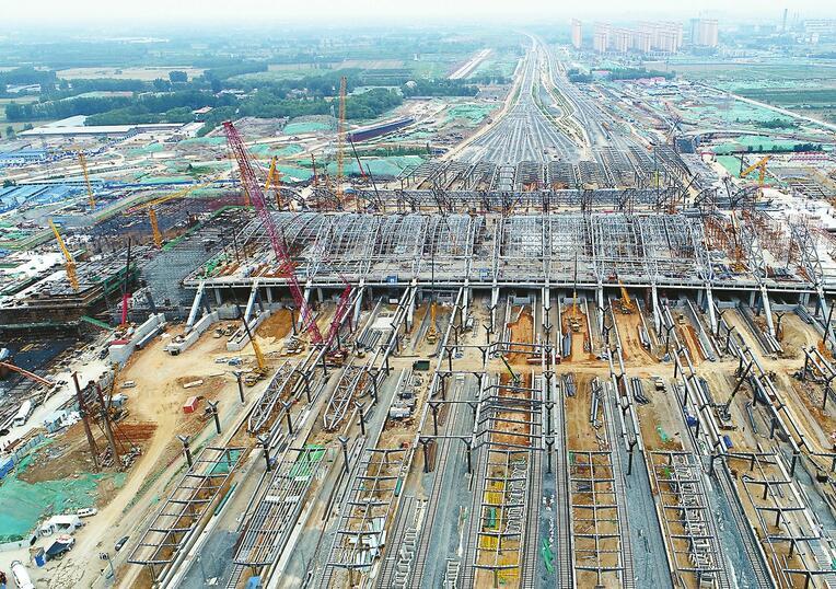 新东站有望12月纳客 济青高铁或同步通车