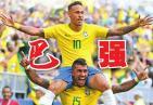 """世界杯1/4决赛:巴西登基有望 红魔只能""""登机"""""""