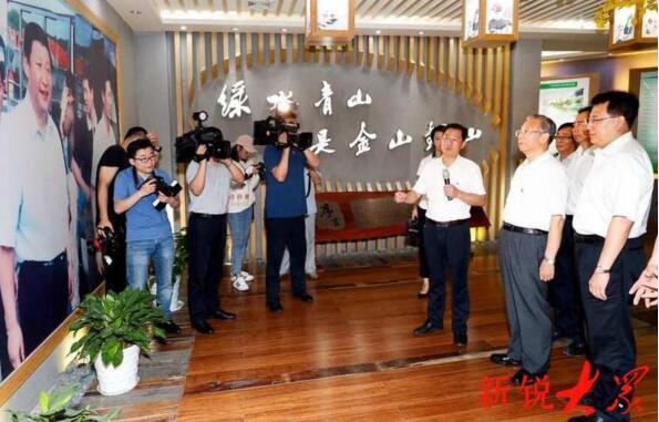 山东省党政代表团在浙江省学习