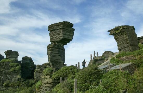 云梯万步天路远 中国梵净山何以列入世界自然遗产地?