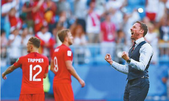 """""""三狮军团""""时隔28年再进世界杯四强 快乐足球笑到最后?"""