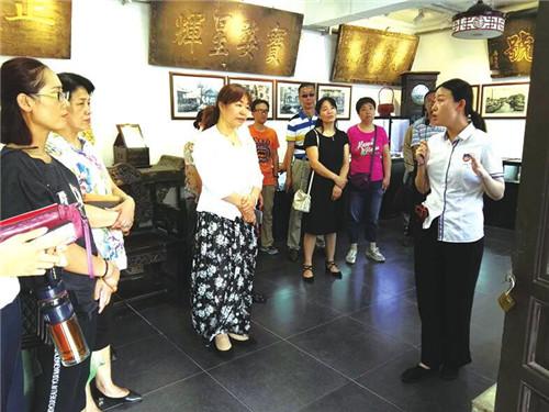 解放路街道机关党支部开展主题党日活动