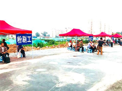 重拳出击治顽疾---王舍人街道开展劳务市场大迁移行动