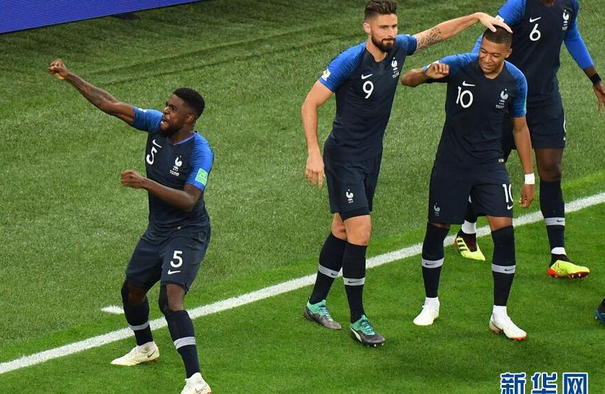 法国1-0比利时晋级世界决赛!乌姆蒂蒂头球破门 难掩兴奋