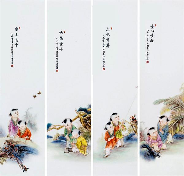 不假丹青笔 何以写瓷情——陈钦华的瓷画人生