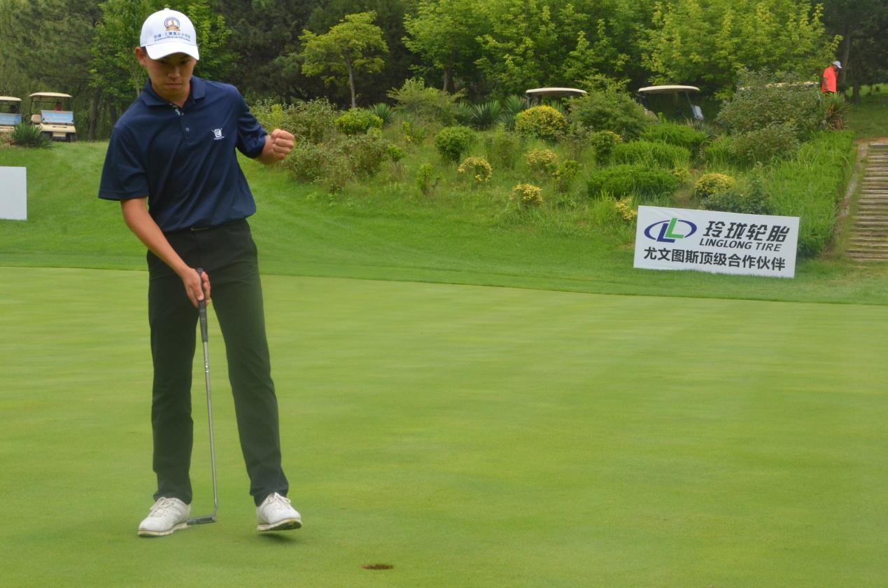高尔夫球小将岛城大比拼 省青少年高尔夫巡回赛青岛国际站举行