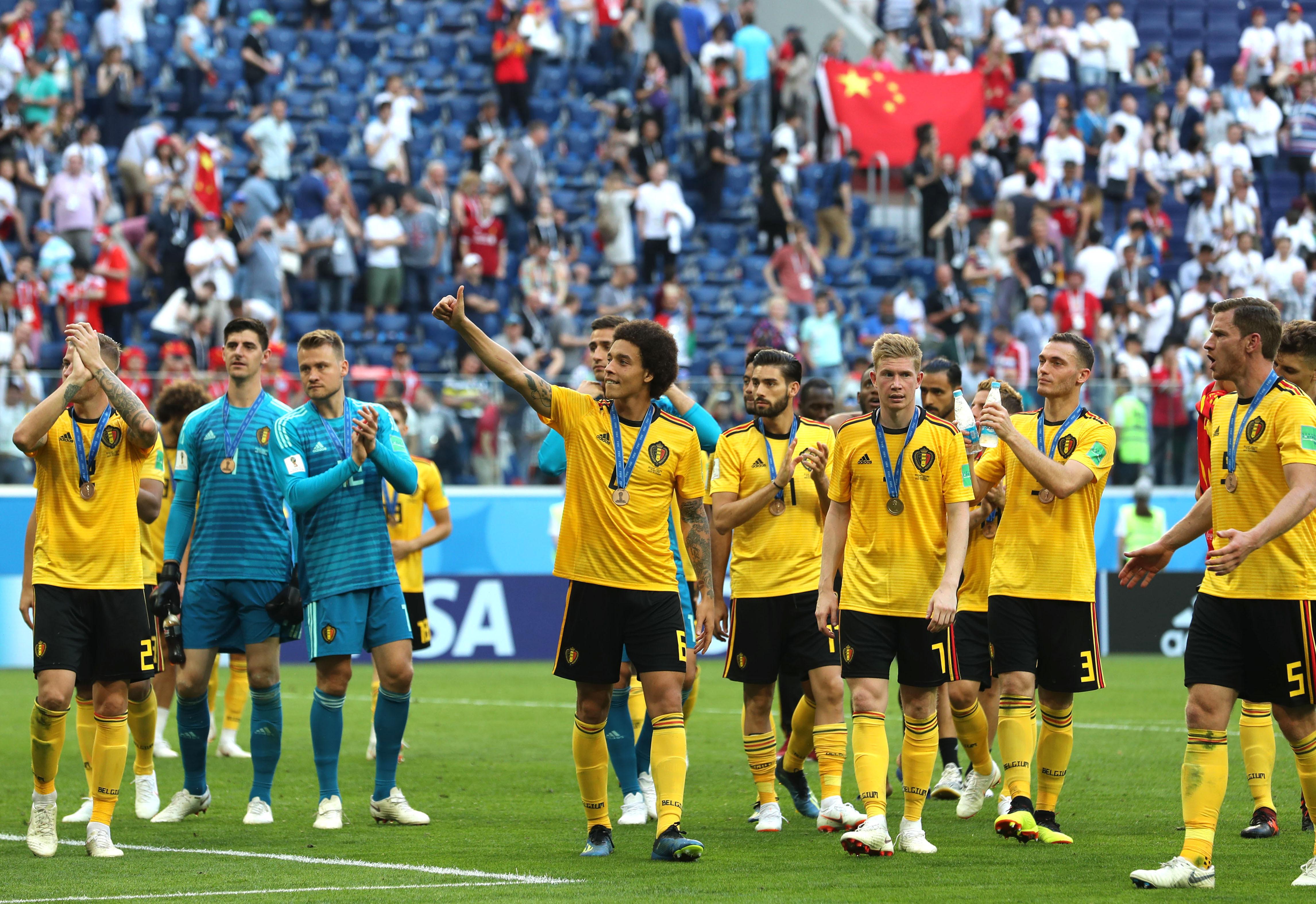 世界杯|比利时队获季军 创历史最佳战绩
