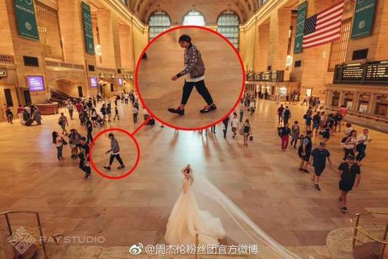 """网友到拍婚纱照拍到周杰伦 这次真的""""背景人物""""真的大有来头!"""