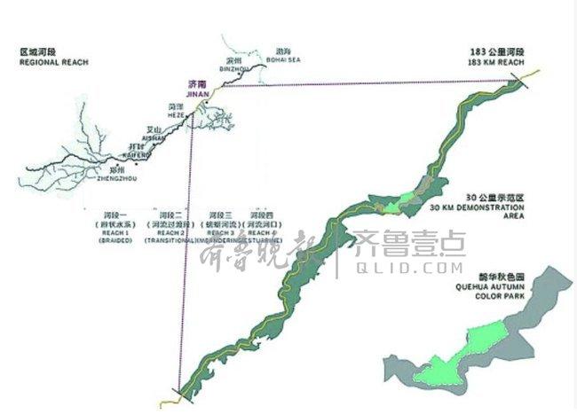 建国家级湿地公园,黄河将成为济南流动的中央公园