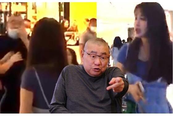 没有半点富豪包袱?刘銮雄咒骂少女当街互怼 太太甘比在场