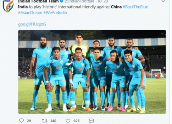 别笑!印度约战中国国足 关于印度足球你要知道这些事