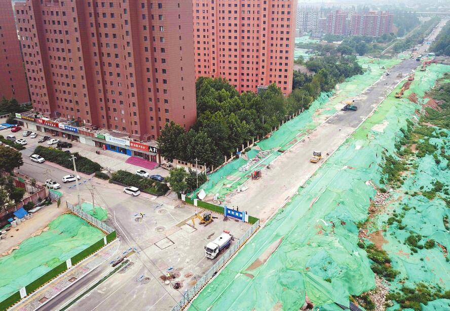 市区列入打通计划的28条瓶颈路全部开工
