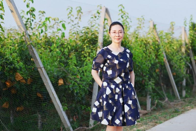 为了父亲,她放弃了自己的传媒公司,甘做济南唐王镇一片果园的女主人
