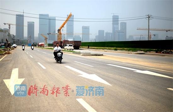 CBD路网通了!主路段已具备通车条件,工业南将直通解放东