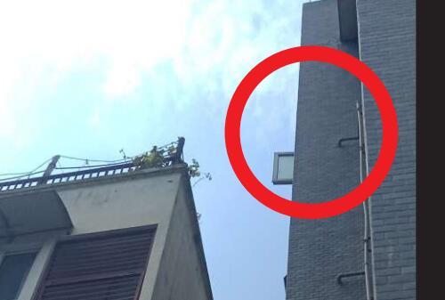 心痛!模仿熊出没攀岩 8岁女孩从6楼坠下3天后死亡