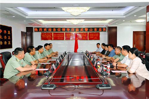 谢兆村走访慰问驻区部队