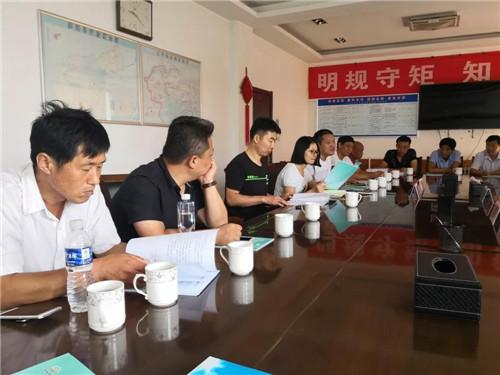 董家街道到济阳县学习交流健康村镇建设经验