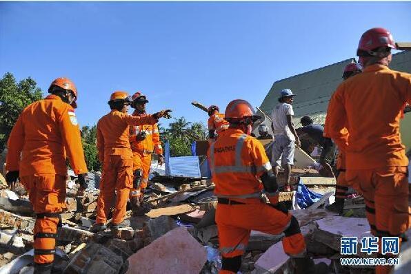 灾难让我们更加友爱和团结 印尼龙目岛地震灾区见闻