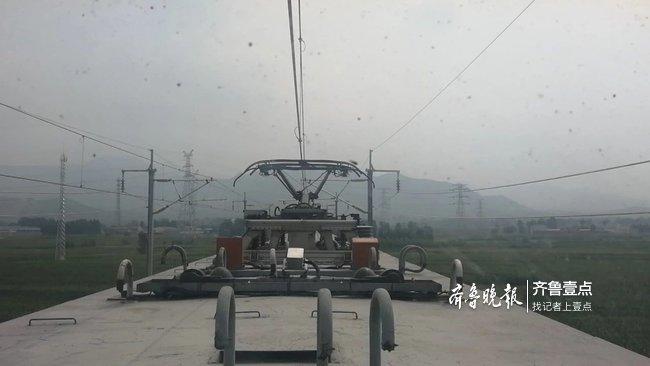 济青高铁联调联试完成三个专业的测试工作