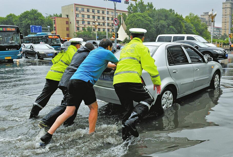 济南昨普降大到暴雨 各级各部门积极行动守护泉城安宁
