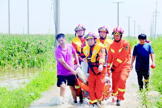 山东省级救灾应急响应升为Ⅱ级 防御台风通知发布