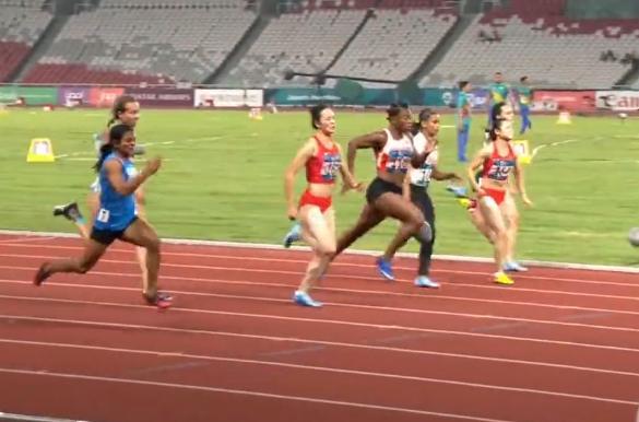 毫厘之差!韦永丽摘铜 女子100米决赛以11秒33获得季军