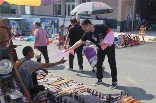 彩石街道开展市民文明素质再提升集中宣传日活动