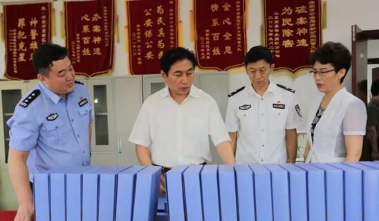 王宏志督导调研高新区扫黑除恶专项斗争工作