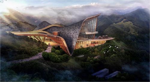 山顶上的艺术孤品 开篇当代建筑与韵律之美