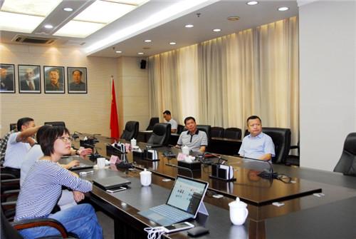 马玉星同志召开会议专题听取明湖湾、宽厚里提升项目情况汇报
