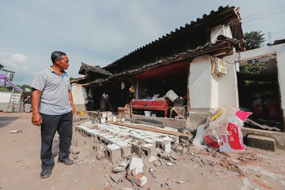 云南墨江发生5.9级地震 应急管...