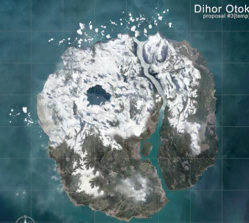 《绝地求生》新地图曝光 雪地海岛中上演激情对战