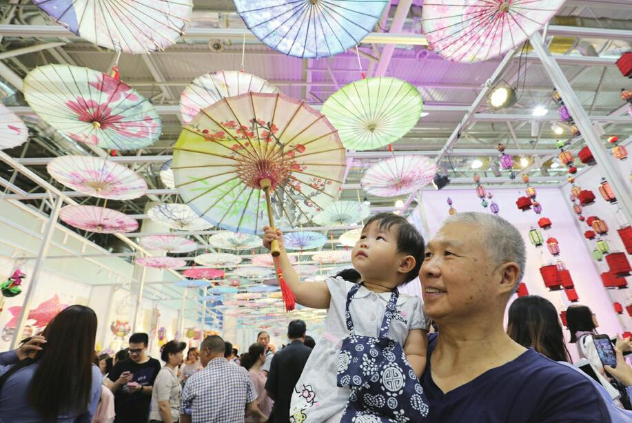 """融入现代生活的""""非遗"""" ——第五届中国非遗博览会现场扫描"""