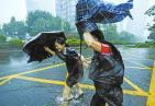 """强台风""""山竹""""肆虐广东 转移人员逾252万人"""