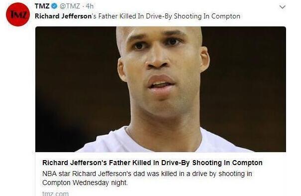 杰弗森父亲遭枪击究竟发生了什么事?大街上有人开枪扫射