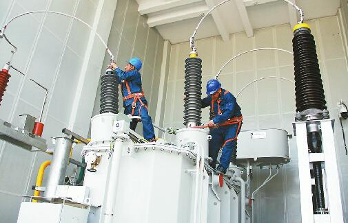 R1线供电枢纽10月底送电 电网建设不停工 助力泉城建设发展
