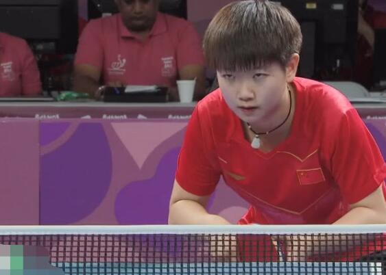 去了就是夺冠的孙颖莎青奥冠军
