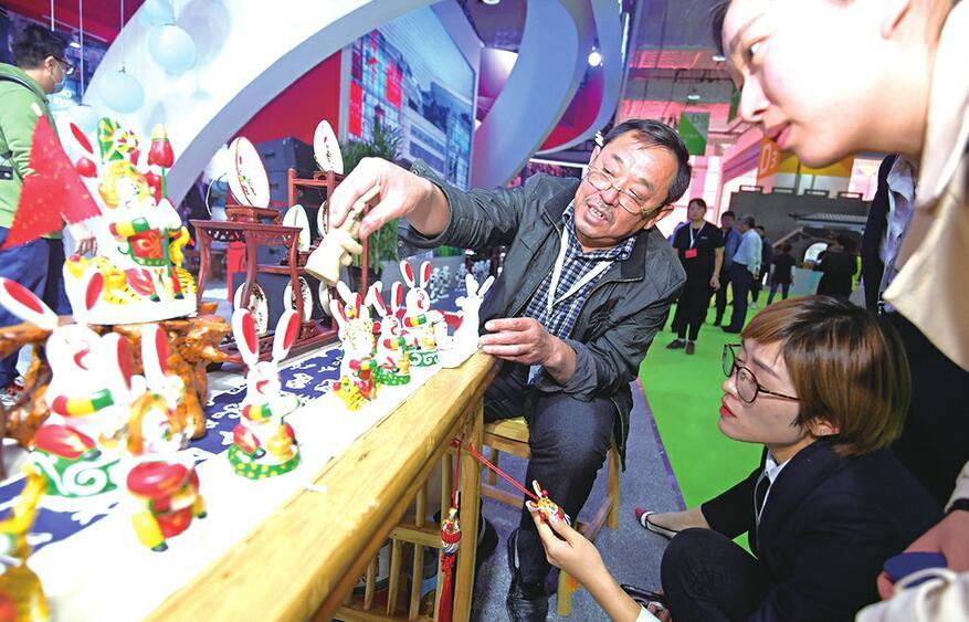 山东17市文化产业争奇斗艳 传承优秀文化 展示高新科技