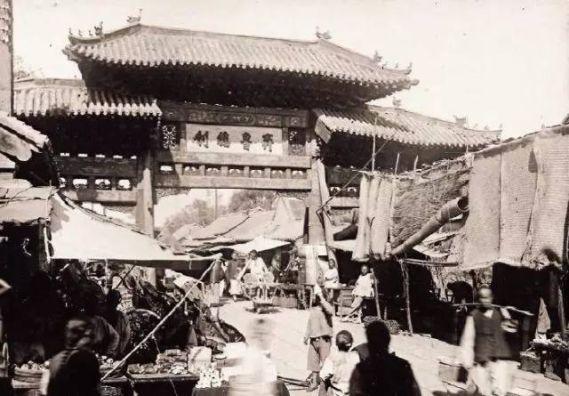 旧时济南的市集和小贩