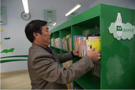 华润怡宝百所图书馆计划爱心回访沂源县悦庄中心小学携手中国儿童少年基金会捐赠爱心书箱