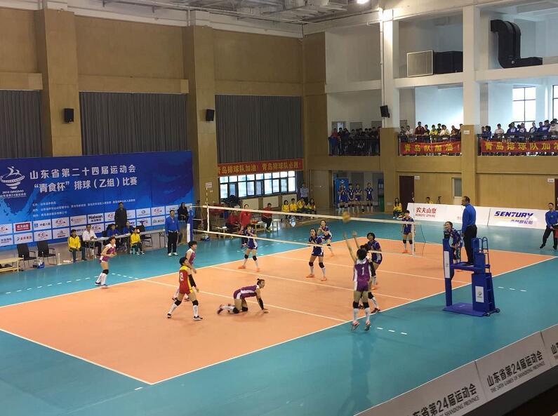 省运会战报:女排(乙组)半决赛济南3:1胜青岛队,顺利挺进决赛