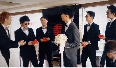 2013届快男大集合!快男左立婚礼 华晨宇、欧豪、白举纲迎亲