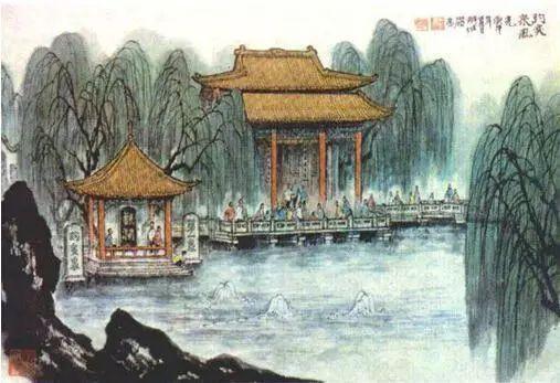 郑板桥与济南