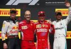 感动!F1美国大奖赛法拉利车手Kimi莱科宁夺冠 拿下他重返法拉利的第一个冠军