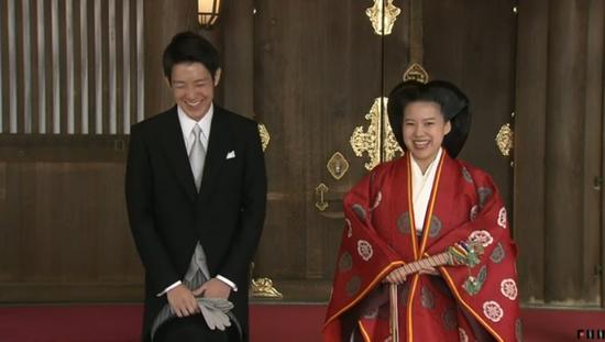 下嫁也幸福!日本绚子公主大婚 皇室户籍从此保不住了