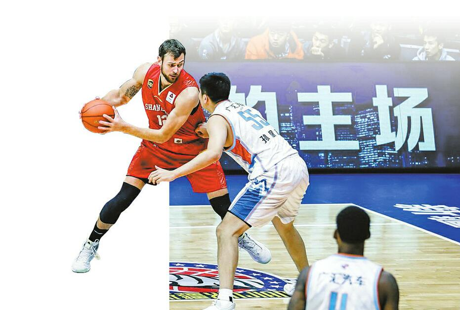 山东男篮客场7分之差不敌新疆队 外线防守仍是顽疾
